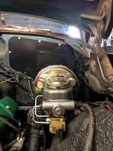 1954 Oldsmobile Power Brake Conversion Master Cylinder Booster 98 88 54 olds