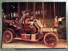 Carte postale voiture ancienne animée  Louis Lumiére vintage  postcard
