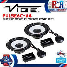 "VIBE Pulse6c-v4 Pulse Series 240 Watt 6.5"" Component Speakers Splits"