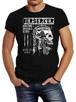 Neverless® Herren T-Shirt Valhalla Berserker Ragnar Lodbrok Sons of Odin