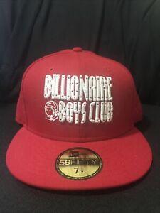 Billionaire Boys Club New Era SZ 7 1/2 Red Pre-Owned