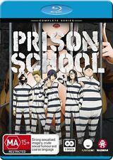 Prison School (Blu-ray, 2017, 2-Disc Set)