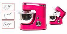Küchenmaschine Rührschüssel Rührmaschine Knetmaschine Schüssel pink 5 L 1400W
