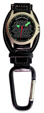 Aqua Force Soldier's Prayer Carabiner Watch (30m Water Resistant)