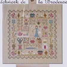 Patchwork de la Brodeuse - cross stitch chart - Jardin Prive
