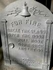 Utica Fire alarm Telegraph Fire Box Door telephone pull gamewell Excelsior NOS