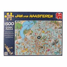 Jan Van Haasteren Whacky Water World Jigsaw Puzzle (1500 Pieces) NEW Jumbo games