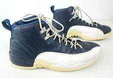 Nike Jordan 12 XII Retro 2012 Obsidian/White- French Blue Size 12