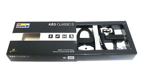 Look Keo Classic 3 Pedals  Black/White