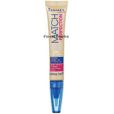 Rimmel Match Perfection 2-in-1 Concealer/Highlighter Soft Beige Vitamin C E 7ml