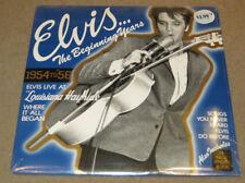 Elvis Presley The Beginning Years Live Louisiana Hayride LP SEALED MINT 1984
