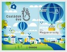 Hongarije / Hungary - Postfris/MNH - Sheet Year of the Families 2018