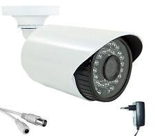 TELECAMERA AHD DA ESTERNO PER VIDEOSORVEGLIANZA AD INFRAROSSI 1500TVL 3,6mm