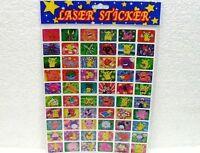 POKEMON-STICKER LASER ADESIVI-MISURA FOGLI CM. 25 x 20-COME DA FOTO