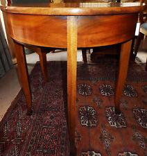 Muro salotto camera da letto grondaie-tavolo in legno pregiato Table console biedemeier antico