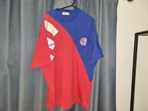 BAYERN MUNICH Adidas 90's Cotton Football Shirt Soccer Jersey XL Vintage Top