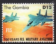 McDonnell Douglas F-15 EAGLE US Militiary Aviation Fighter Aircraft Stamp