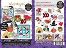 Kimberbell  KD508  Kimberbell Cuties 12 Seasanol Table Toppers Companion CD
