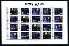 [93182] Micronesia  Ships Titanic 100 Years Full Sheet MNH