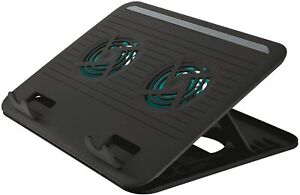 Supporto di Raffreddamento per Computer Portatile con 2 Ventole per Laptop