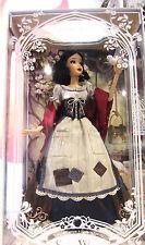 "NIB Disney Store 2017 Princess SNOW WHITE Limited Edition 17"" LE Doll Preorder"