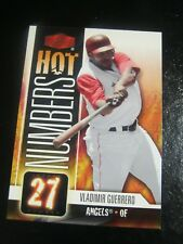 2006 Flair Showcase Hot Numbers #HN 30 Vladimir Guerrero - Anaheim Angels