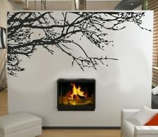 Wall stickers Decal Removable Art Black Big Tree Branch PVC Mural Home Decor