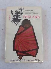 J. Louw van Wijk TSELANE Houghton Mifflin Company  c.1961 Book Club Edition