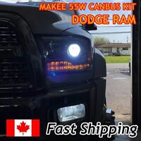 2017 DODGE RAM 1500 CANBUS HID CONVERSION KIT (WITH PROJECTOR) 9005 55W (6000K)