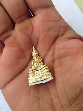 THAI BUDDHA SACRED GOOD LUCK LOVE & PROTECTION AMULET BLESSED BY MIRACLE MONKS(2