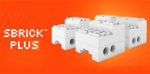 4 SBrick PLUS receivers compatible with Lego Motors & Sensors (smart,brick,car)