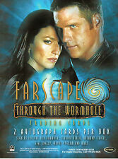 FARSCAPE THROUGH THE WORMHOLE PROMOTIONAL SELL SHEET