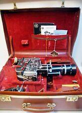 CAMERA PAILLARD BOLEX H 16 - REX 3 -16 mm -1964 - N° 207452 + VALISE CUIR