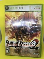 Samurai Warriors 2 (XBOX 360) Complete/CIB • Fast Shipping!