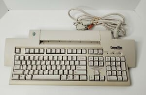 Scanner Keyboard By Compatibles By Compaq - Model #RT6L5CTW - Clicky - Untested