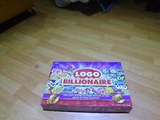 LOGO BILLIONAIRE Drumond Park Board Game  Ages 8 - Adult Complete  VGC Free Post