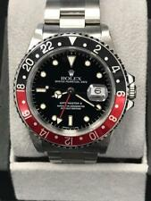 Rolex GMT Master II 16710 Coke Bezel Black & Red Stainless Steel Mens Watch