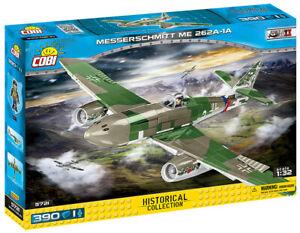 Cobi 5721 - 1:32 Scale Messerschmitt ME-262A 1A (382pcs) Building Blocks WWII