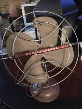 Vintage Westinghouse Oscillating Electric Fan 1950's/1960's USA Works Great!
