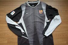 FC Barcelona 100% Original GK Jersey Shirt M 2002/2003 Rare [678]