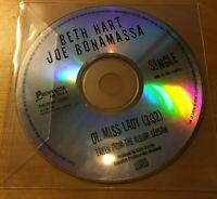 BETH HART & JOE BONAMASSA Miss Lady 2013 UK 1-trk promo test press CD