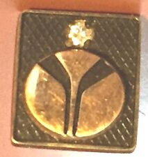 10k yellow gold with diamond American Rockwell Employee/ Service Pin
