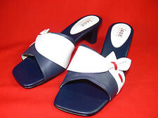 JADE AUSTRALIA Ladies Leather Slide Shoes Size 38 No: RL685 EXCELLENT CONDITION