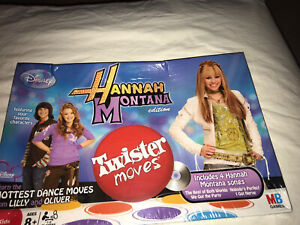 Disney Hannah Montana Twister Moves Learn Dance Moves From Lilly & Oliver 2 Cd's