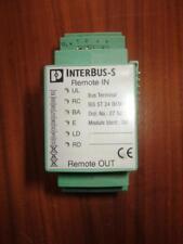 Phoenix Contact Bus Term IBS ST 24 BKM-T  P/N  2750154