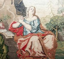 RARE 1600s to 1700s Antique Micro Petitpoint Embroidery Tapestry, Needlepoint