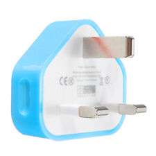 Mains Wall Home UK USB Plug Charger Adapter For Samsung IPhone Phone & Tablets