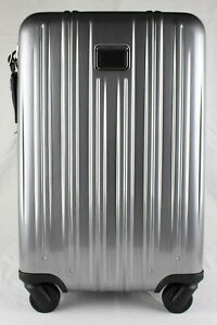 TUMI 'V3' Silver Polycarbonate International Expandable Carry-On - 228260SLVE