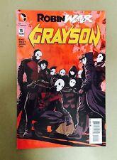 GRAYSON #15 ROBIN WAR PT.2 1ST PRINT DC (2016) BATMAN NIGHTWING COURT OF OWLS