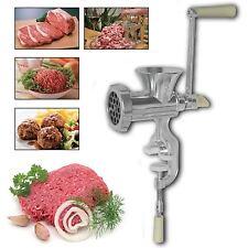 Nouveau de la viande hachoir broyeur manuel commandé à la main cuisine viande saucisse maker
